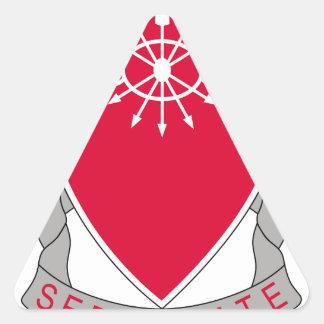 78.o Batallón del ingeniero Pegatina Triangular
