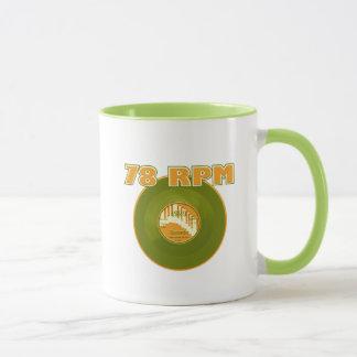 78 RPM 1929 Record Mug