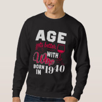 78th Birthday T-Shirt For Wine Lover.