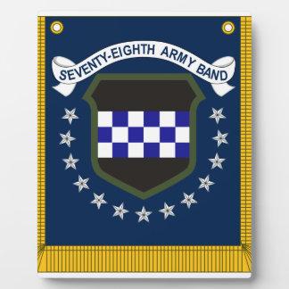 78th tabard plaque