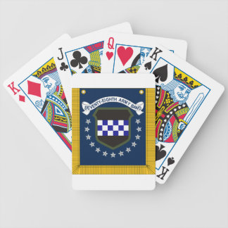 78th tabard bicycle poker cards