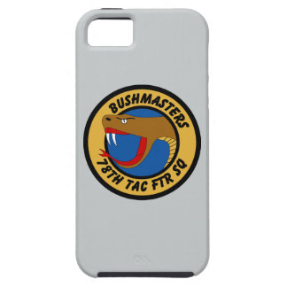 78th Tactical Fighter Squadron - Bushmasters iPhone SE/5/5s Case