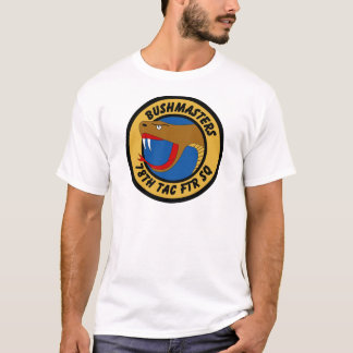 78th Tactical Fighter Squadron - Bushmasters T-Shirt