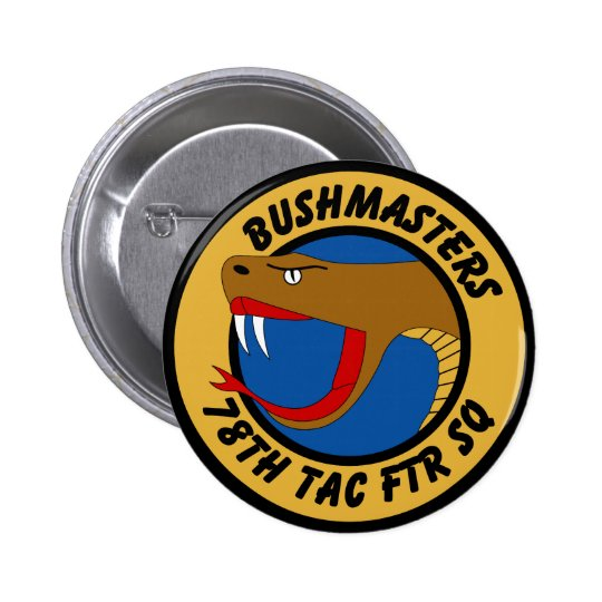 78th Tactical Fighter Squadron Pinback Button