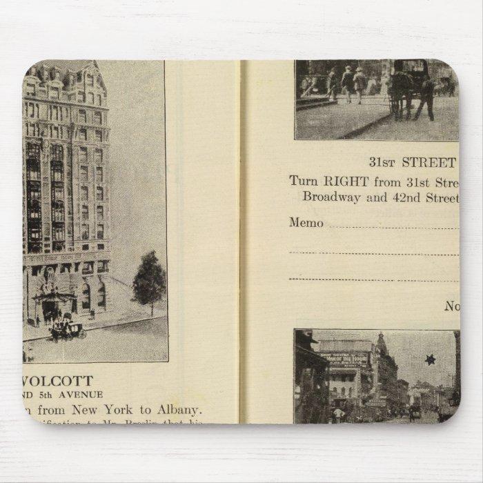 79496 Hotel Wolcott Broadway at 31st & 42nd Mouse Pad