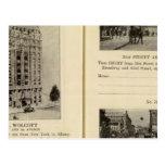 79496 hotel Wolcott Broadway en 31ro y 42.o Tarjeta Postal