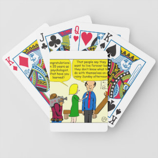795 Sunday afternoon cartoon Bicycle Playing Cards
