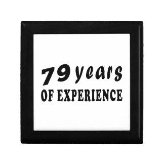 79 años de experiencia cajas de joyas