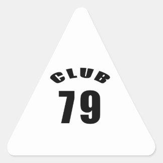 79 Club Birthday Designs Stickers