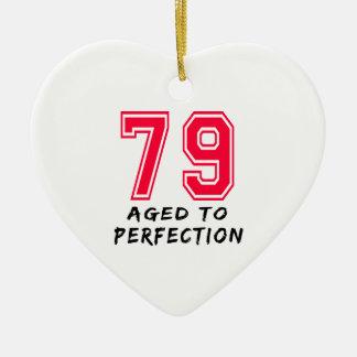 79 envejeció al diseño del cumpleaños de la perfec ornamentos para reyes magos