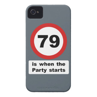 79 is when the Party Starts iPhone 4 Cover