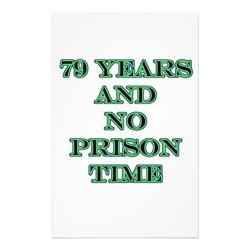 79 ninguna hora de prisión papeleria