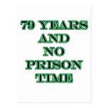 79 ninguna hora de prisión postales
