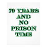 79 ninguna hora de prisión tarjeton