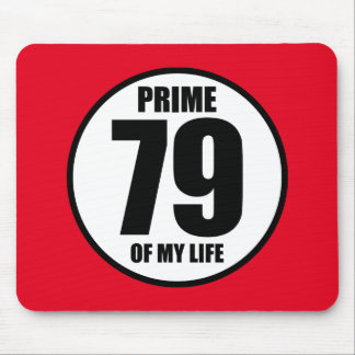 79 - prime of my life mouse pad
