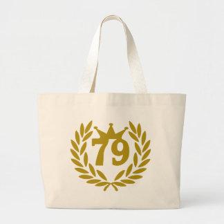79-real-laurel-crown canvas bags