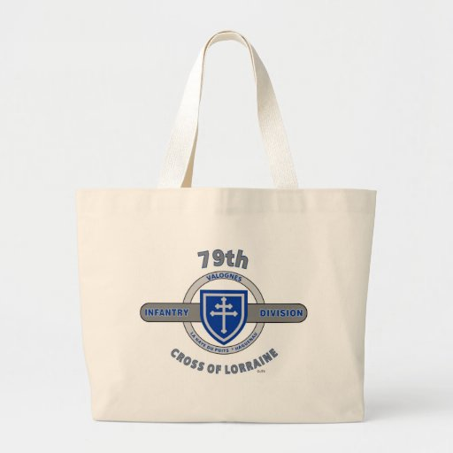 "79TH INFANTRY DIVISION ""CROSS OF LORRAINE"" TOTE BAGS"