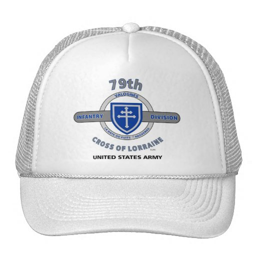 "79th Infantry Division ""Cross of Lorraine"" Cap Hat"