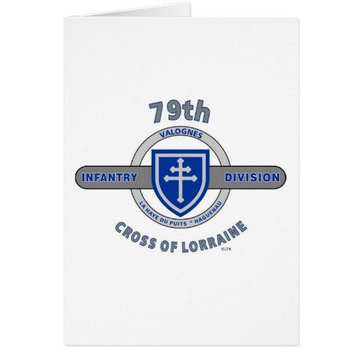 "79TH INFANTRY DIVISION ""CROSS OF LORRAINE"" CARDS"