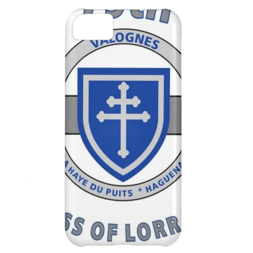 "79TH INFANTRY DIVISION ""CROSS OF LORRAINE"" COVER FOR iPhone 5C"