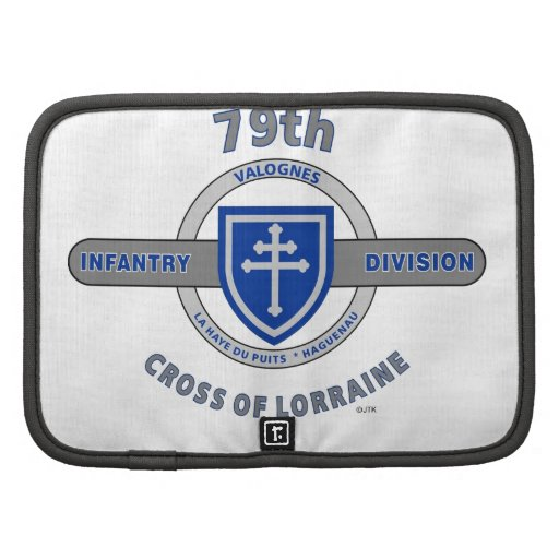 "79TH INFANTRY DIVISION ""CROSS OF LORRAINE"" FOLIO PLANNER"