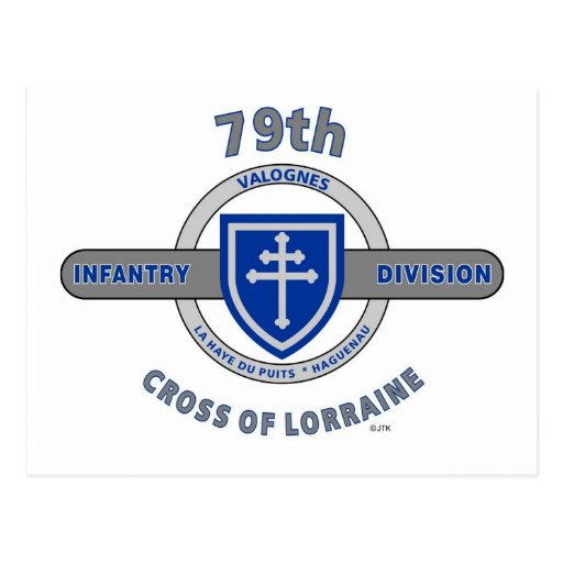 "79TH INFANTRY DIVISION ""CROSS OF LORRAINE"" POST CARDS"