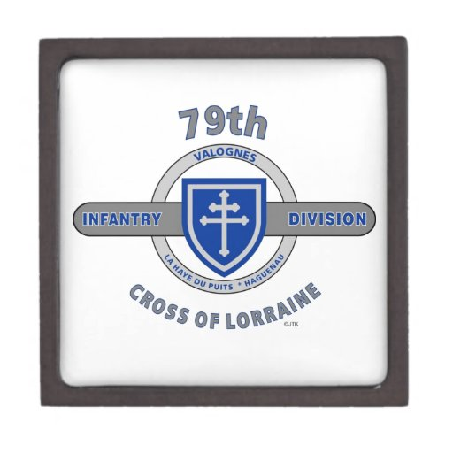 "79TH INFANTRY DIVISION ""CROSS OF LORRAINE"" PREMIUM JEWELRY BOXES"
