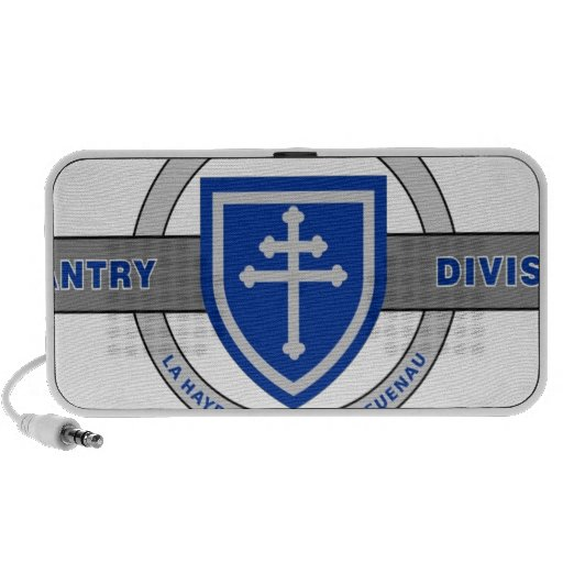 "79TH INFANTRY DIVISION ""CROSS OF LORRAINE"" iPod SPEAKERS"