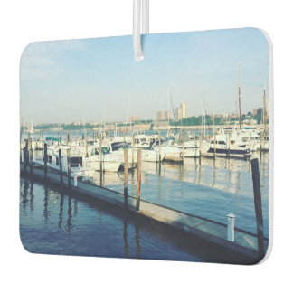 79th Street Boat Basin Hudson River New York NYC Car Air Freshener