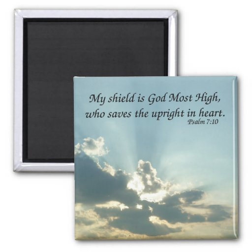 7:10 del salmo imán para frigorífico