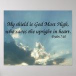 7:10 del salmo posters