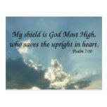 7:10 del salmo tarjetas postales