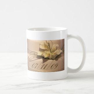 7/11/09 Calla Lily Wedding Postage Coffee Mug