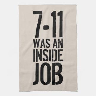 7-11 Inside Job Hand Towel