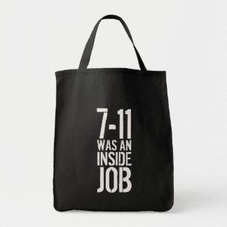7-11 Inside Job Tote Bag