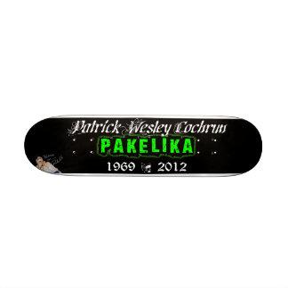"""7 1/4"""" cubierta del monopatín del tributo de Pakel Patineta 7 3/8"""""""