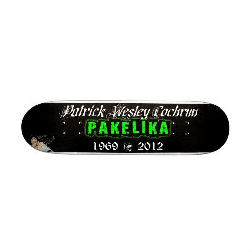 "7 1/4"" Pakelika Tribute Skateboard Deck"
