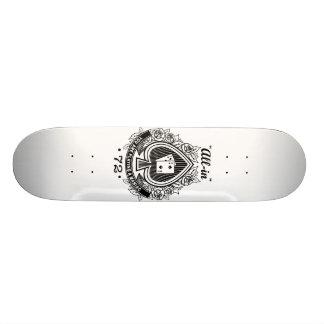 7-2 All in! Skateboard Deck