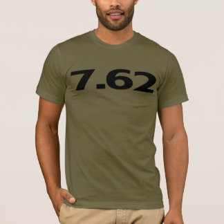 7,62 milímetros de munición del arma playera