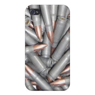 7.62x39 FMJ AK Ammo Cases For iPhone 4