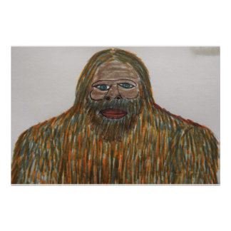 7.6 ft tall mixed race sasquatch posters