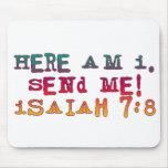 7:8 de Isaías Alfombrillas De Ratones