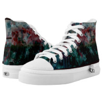 7 Angels abstract High-Top Sneakers