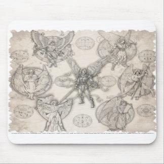 7 Archangels Mousepad