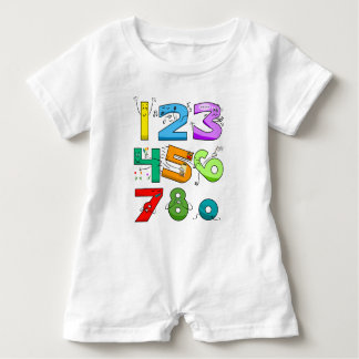 7 Ate 9 Baby Romper