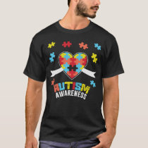 7 autism awareness T-Shirt