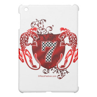 7 auto racing number tigers iPad mini cover