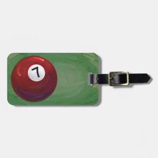 7 Ball Bag Tag