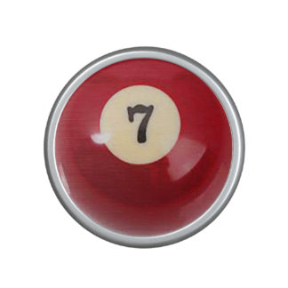 """""""7 Ball"""" pool ball design gifts and products Speaker"""