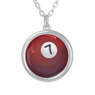 7 Ball Silver Plated Necklace